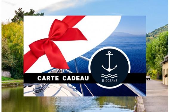 Carte cadeau permis fluvial 350€