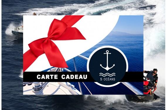 Carte cadeau 300€ au lieu de 350€ jusqu'au 24/12/2018
