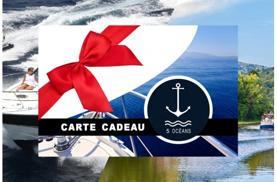 Carte cadeau cotier+fluvial 400€